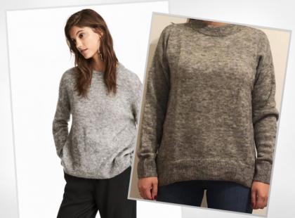 Oczekiwania vs. rzeczywistość, czyli moja historia zamawiania swetrów online z H&M
