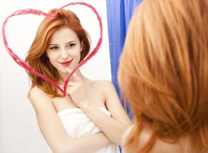 Odbicie w lustrze - ćwiczenie na to, jak je pokochać