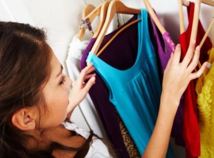 Odchudzające porządki w szafie
