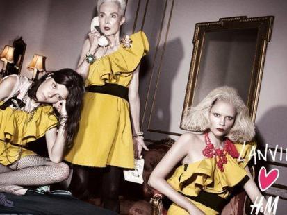 Odkrywamy Lanvin for H&M