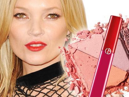 Odmładzający makijaż jak u Kate Moss