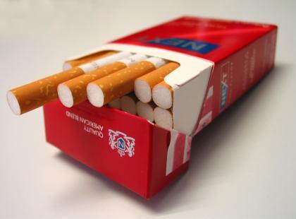 Odstraszające paczki papierosów