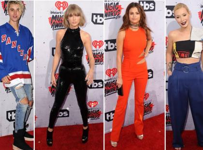 Odurzony Bieber, seksowna Swift i inni na iHeart Radio Music Awards