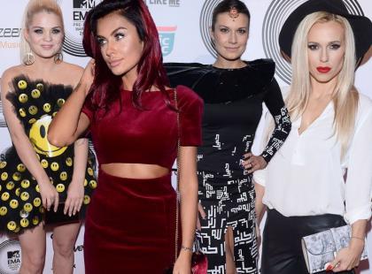 Odważne stylizacje gwiazd na MTV EMA Pre-Party
