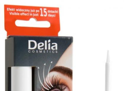 Odżywka stymulująca wzrost rzęs i brwi - Delia Cosmetics