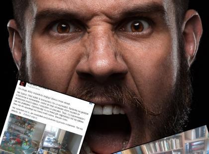 Okradziony mężczyzna publikuje zdjęcia z włamania i na własną rękę poszukuje złodzieja, który go okradł. Uwaga, mocne!