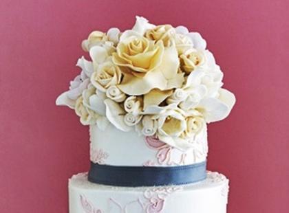 Okrągłe torty weselne