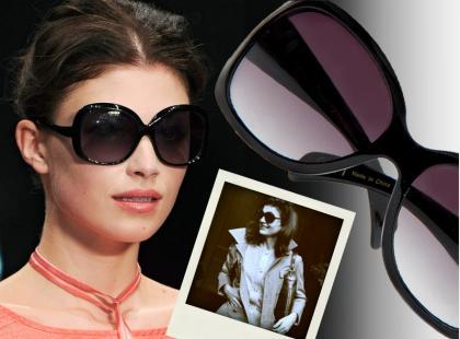 Okulary w stylu Jackie Kennedy