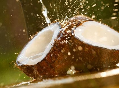 Olej kokosowy przeciw próchnicy