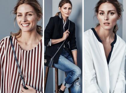 Olivia Palermo gościnną stylistką słynnej marki...