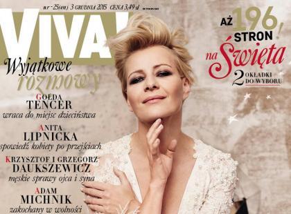 Olśniewająca Małgorzata Kożuchowska na 2 okładkach Vivy!