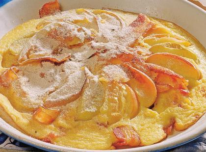 Omlet z jabłkami