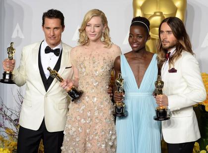 Oni zgarnęli Oscary 2014 - lista lauretów