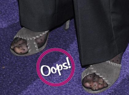 Oops wpadka: czyje to buty