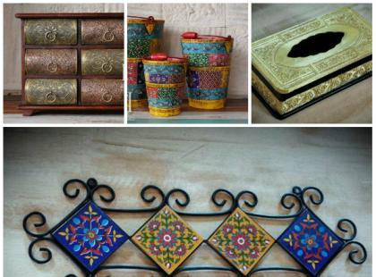 Orientalne wnętrze - dodatki w stylu indyjskim