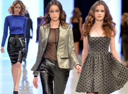 Orsay na pokazie podczas 8. Fashion Week Poland