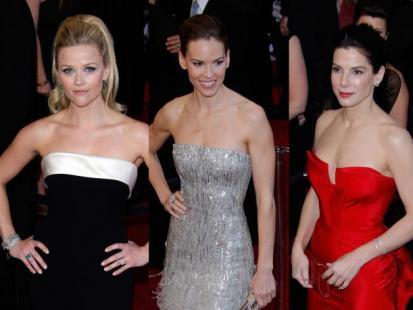 Oscary 2011: Panie na czerwonym dywanie