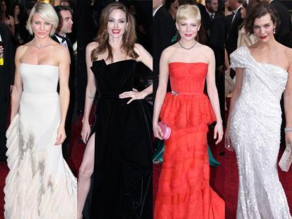 Oscary 2012 - Gwiazdy na czerwonym dywanie