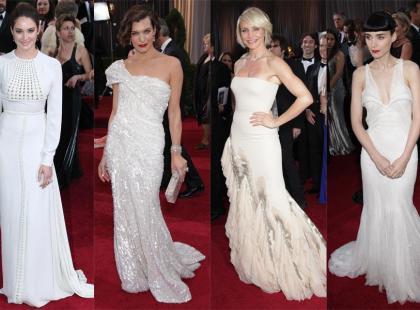 Oscary 2012 - Moda i kreacje