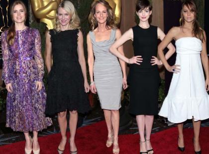 Oscary 2013: Gwiazdy Hollywood na oficjalnym lunchu