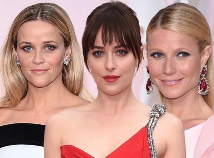 Oscary 2015: makijaże i fryzury gwiazd