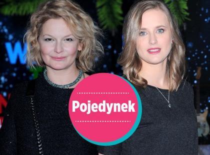 Ostałowska vs. Chodorowska. Pojedynek na czarny total look