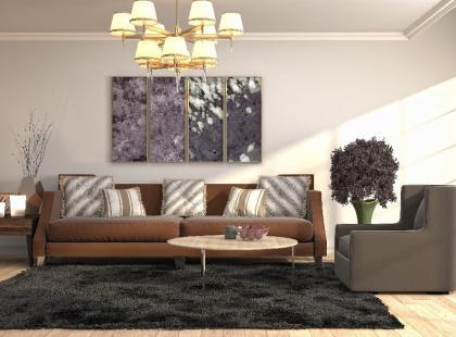 Oświetlenie salonu to jedna z najważniejszych kwestii. Jak wybrać idealny żyrandol do salonu?