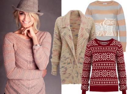 Otul się swetrami z Marks & Spencer