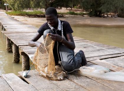 Owoce morza, ryby i mięso w kuchni Senegalu