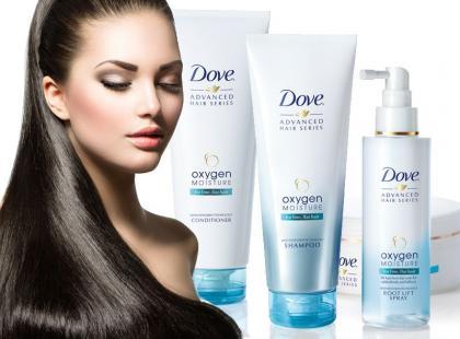 Oxygen & Moisture - nowość do włosów od Dove
