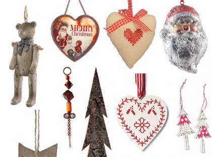 Ozdoby świąteczne w stylu handmade
