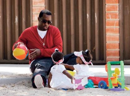 P. Diddy bawi się z córkami