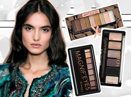 Palety cieni do powiek, którymi wykonasz najmodniejszy makijaż na zimę 2016