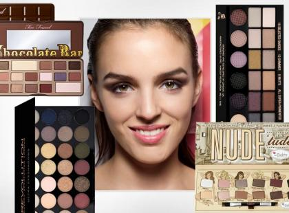 Palety do makijażu oczu - wybierz swoją ulubioną!