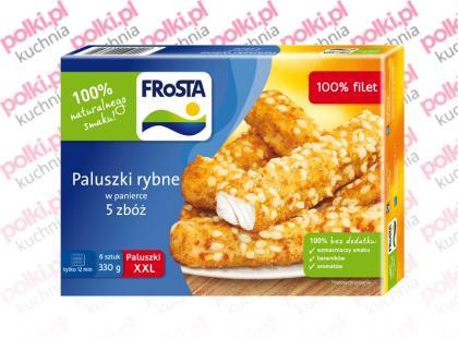 Paluszki rybne w panierce 5 zbóż – nowość marki FRoSTA