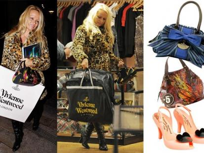 Pamela Anderson kocha Vivienne Westwood