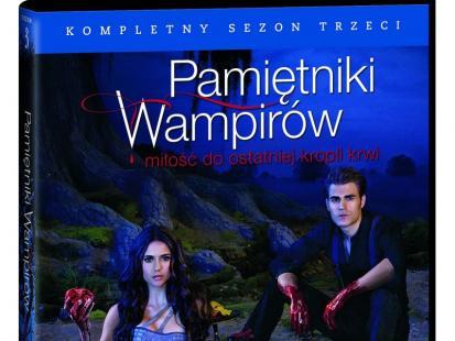 """Pamiętniki wampirów"" już na DVD"