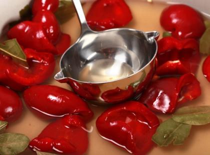 Papryka marynowana z czosnkiem
