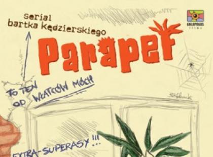 """""""Parapet"""" - animowany serial Barta Kędzierskiego po raz pierwszy na DVD!"""