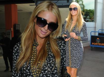 Paris Hilton już w Cannes. Zadała szyku w swoim stylu