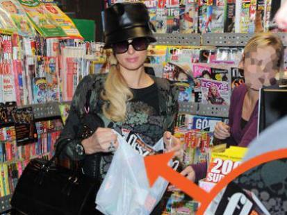 Paris Hilton kupiła flesz. Gwiazdy i Styl