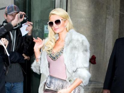 Paris Hilton - Pierwszy raz w Polsce