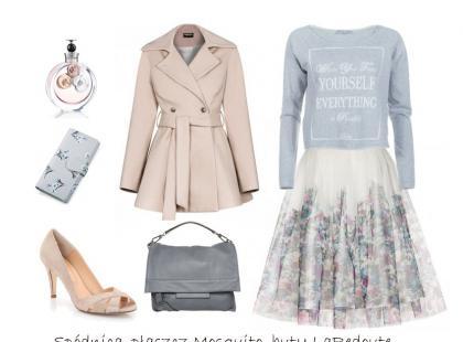 Pastele i szarości w wiosennych stylizacjach