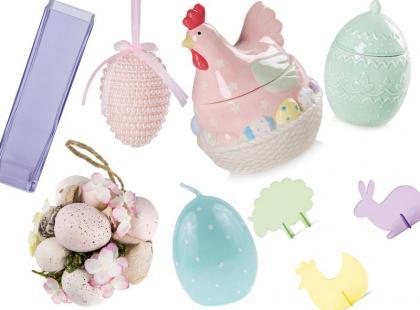 Pastelowe dodatki na Wielkanoc