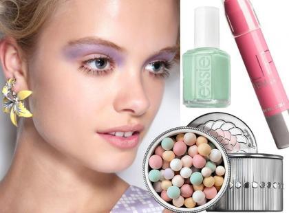 Pastelowe kosmetyki do makijażu na wiosnę 2014