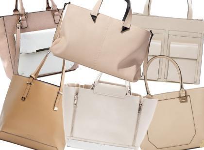 Pasują do wszystkiego: duże beżowe torby od 89zł