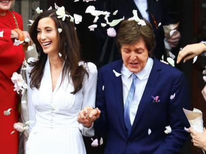 Paul McCartney i Nancy Shevell - Trzecia żona Beatlesa