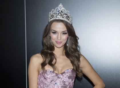 Paulina Krupińska w finale Miss Universe w sukience paprocki&brzozowski!