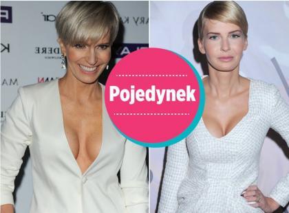 Paulina Smaszcz-Kurzajewska i Edyta Pazura wyglądają jak siostry!