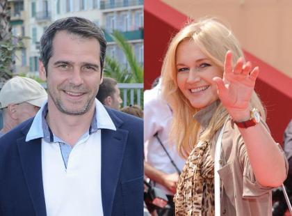 Paweł Deląg i Grażyna Torbicka w Cannes